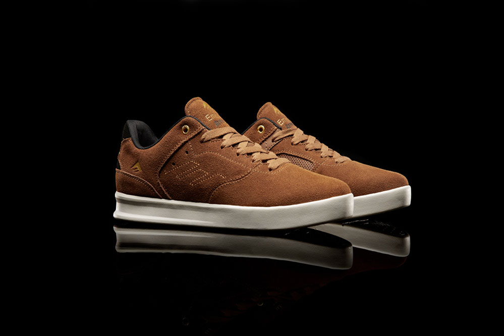 Emerica The Reynolds Low Schuh in Brown