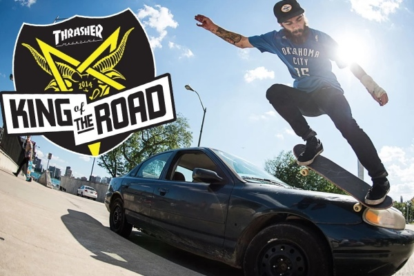 thrasher king of the road 2014