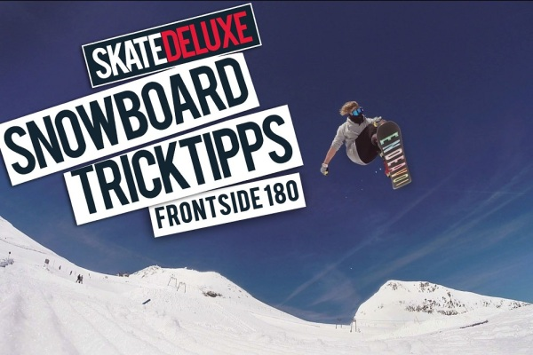 Snowboard Trick Tipps Frontside 180