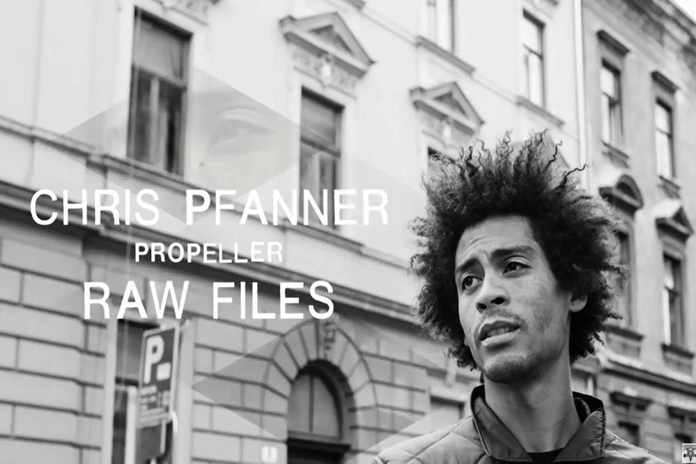 "Chris Pfanner Interview Chris Pfanner's ""propeller"