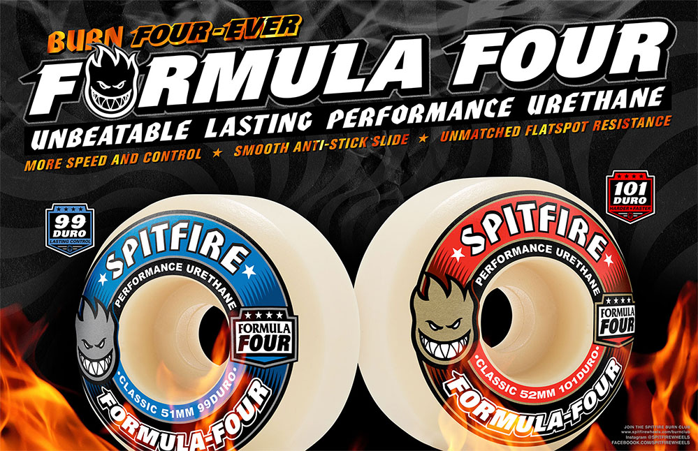 The Spitfire Formula Four Wheels