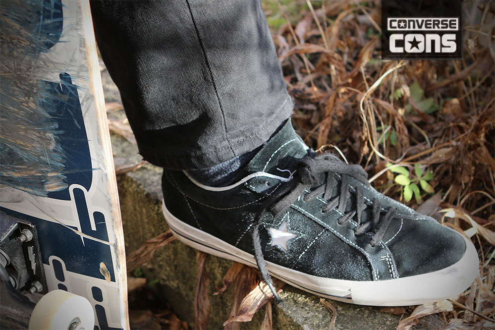 Product test: Converse CONS One Star | skatedeluxe Blog
