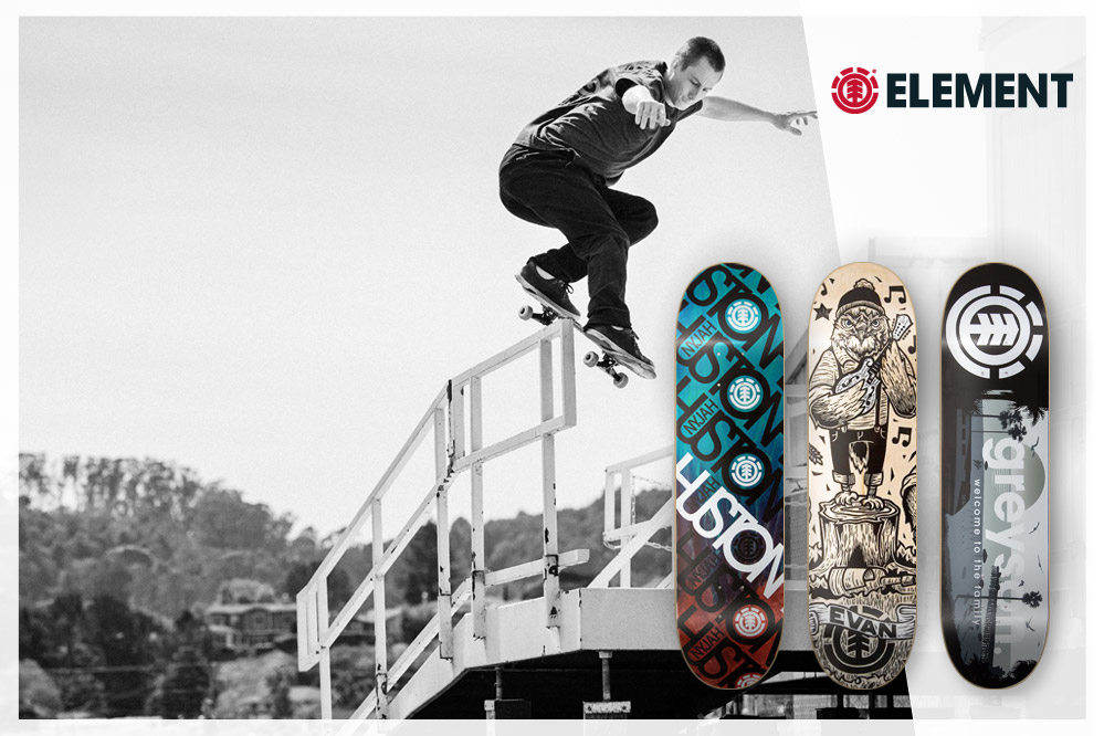 #04: Element Skateboards