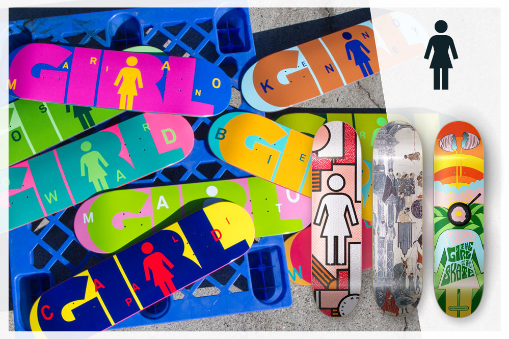 #07: Girl Skateboards