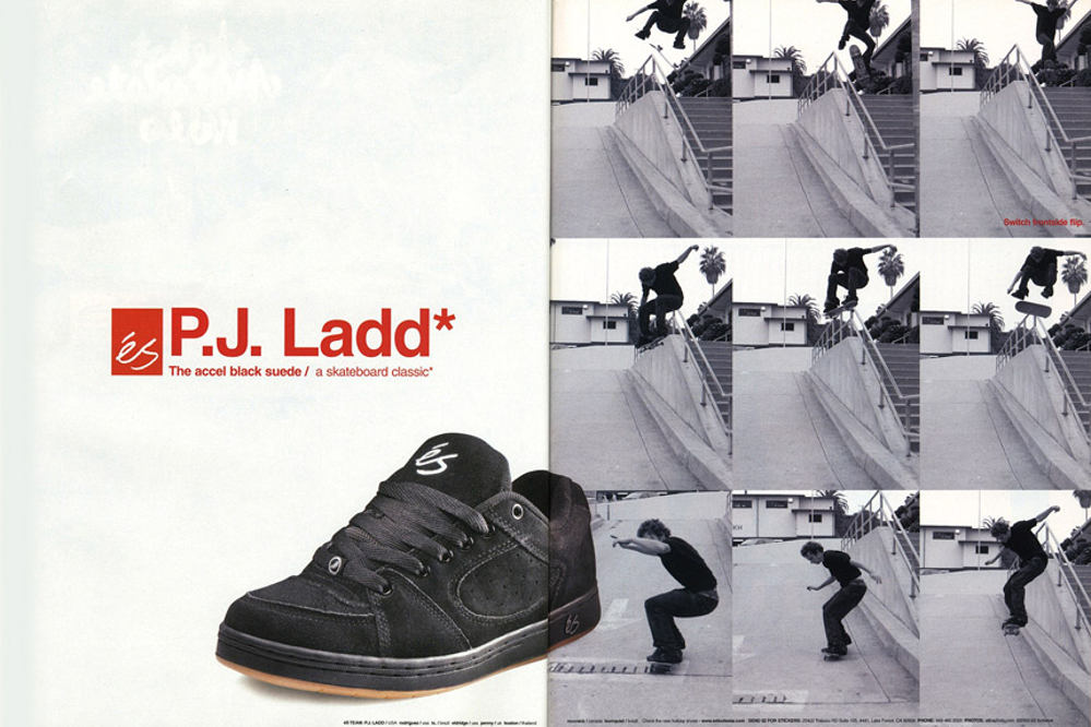 classic fit 51936 43442 The éS Game of SKATE becomes a national amateur series, P.J. Ladd winning  the 10 grand prize this time.