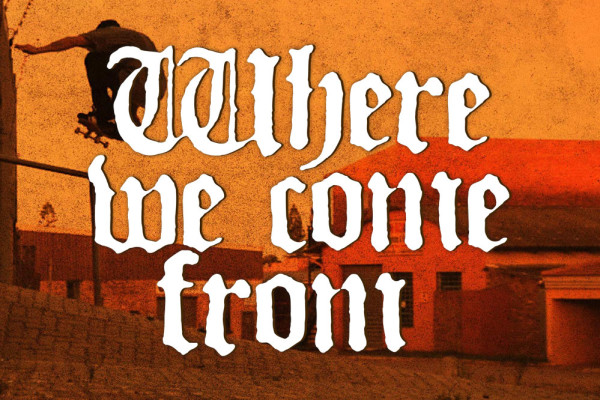 Where we come from - DVD - Header