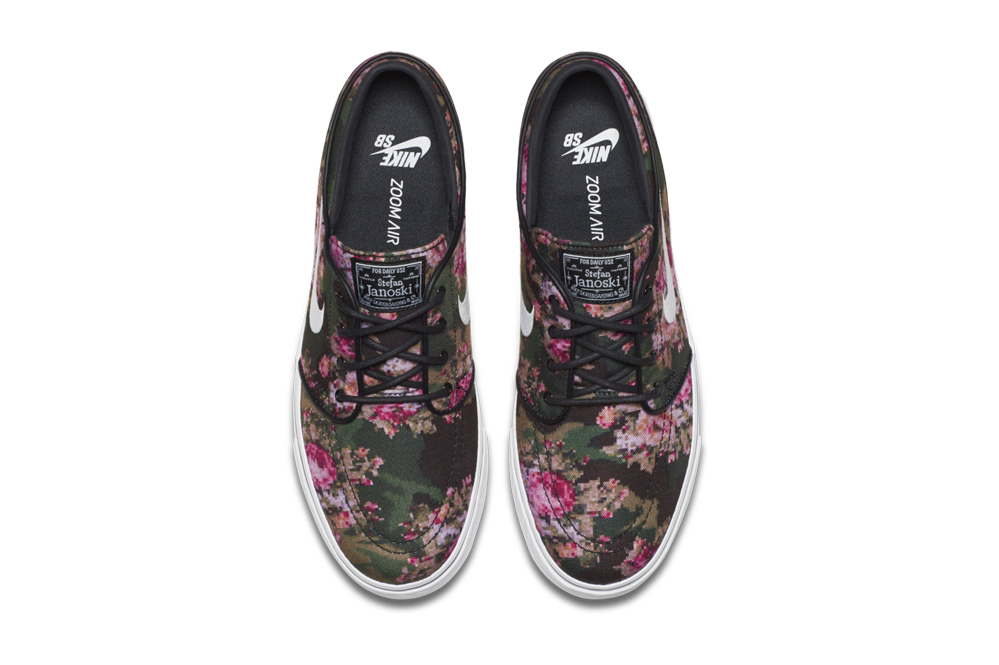 Nike SB Zoom Stefan Janoski Digi Floral | skatedeluxe Blog