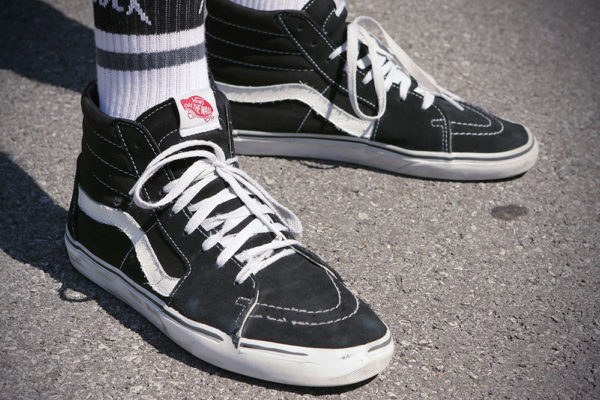 169deb78389c2 Wear Test  Vans Sk8-Hi – Still a No. One Skate Shoe