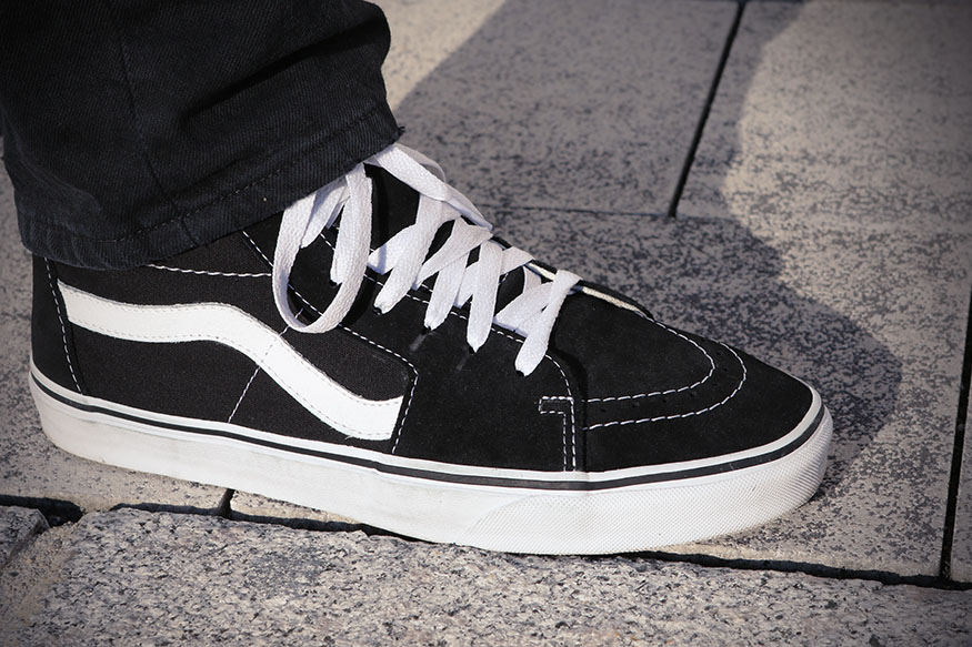 Wear Test: Vans Sk8 Hi | skatedeluxe Blog