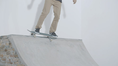 Skateboard Trick Axle Stall & BS 50-50