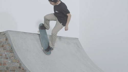 Skateboard Trick Fakie Disaster