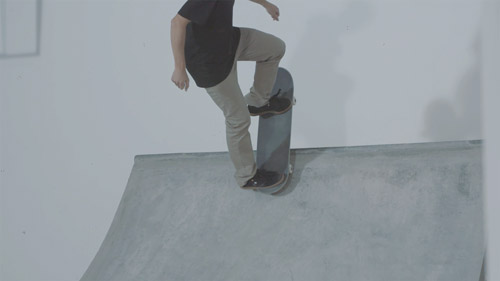 Skateboard Trick Rock 'n' Roll Feet Position