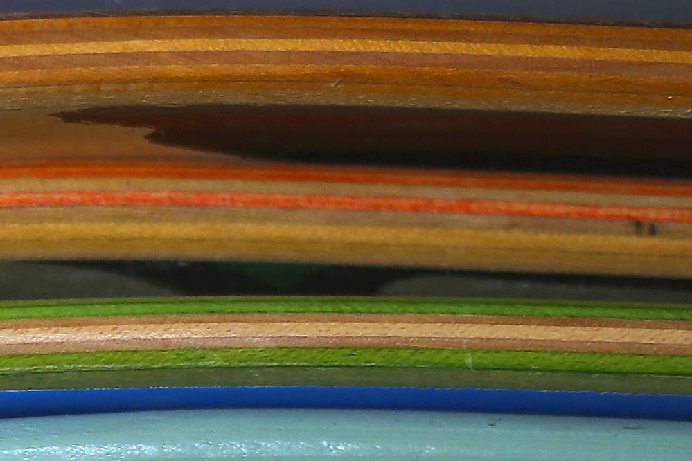 Skateboard Decks Close Up