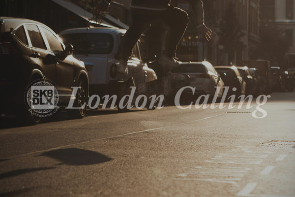 Skateboarding in London