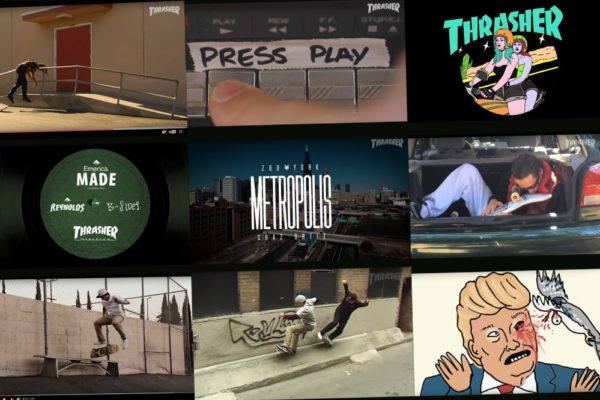 Top Skateboard Videoparts of 2016