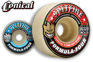 Spitfire Formula Four Conical Wheels