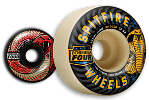 Spitfire Formula Four Radials Slim Wheels