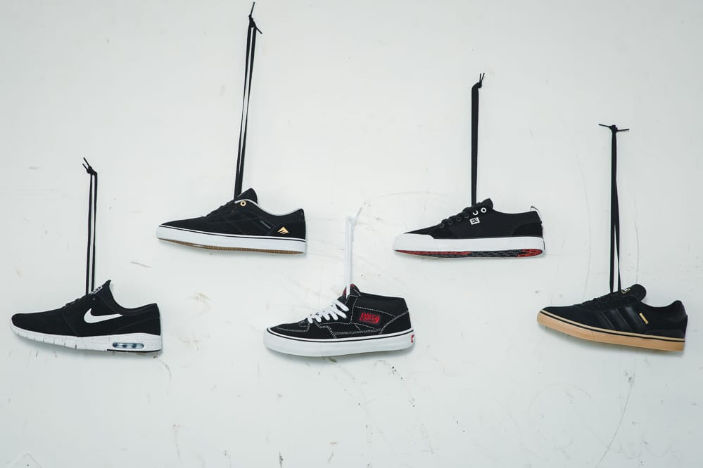 Everything about Skate Shoes and Sneakers at skatedeluxe