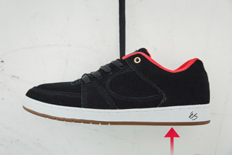Skate shoe outsole