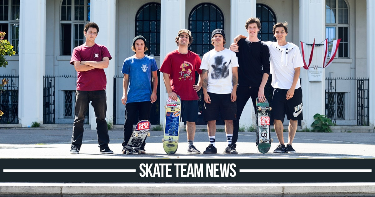 skatedeluxe Skate Team News