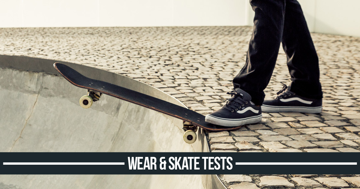 Skateboard & Skate Shoe Tests