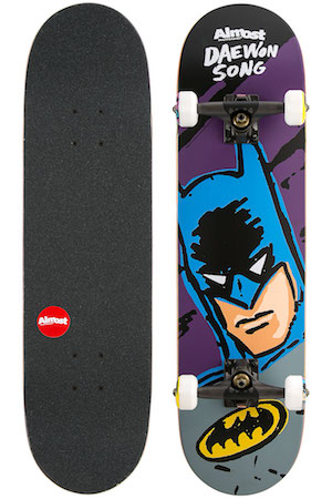 Almost Song Sketchy Batman Complete Board - skatedeluxe