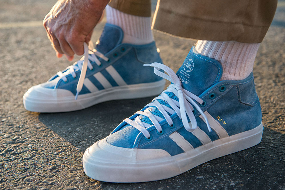 The new adidas Matchcourt Mid x MJ pro model! | skatedeluxe Blog