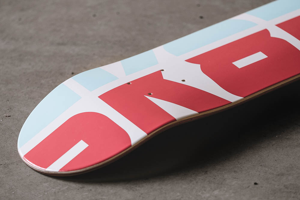 "SK8DLX Athletic Deck 7.5"" Detail"