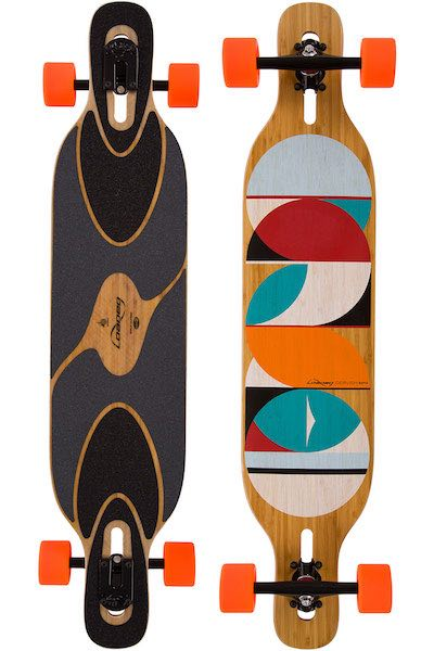 Loaded Dervish Sama Komplett-Longboard