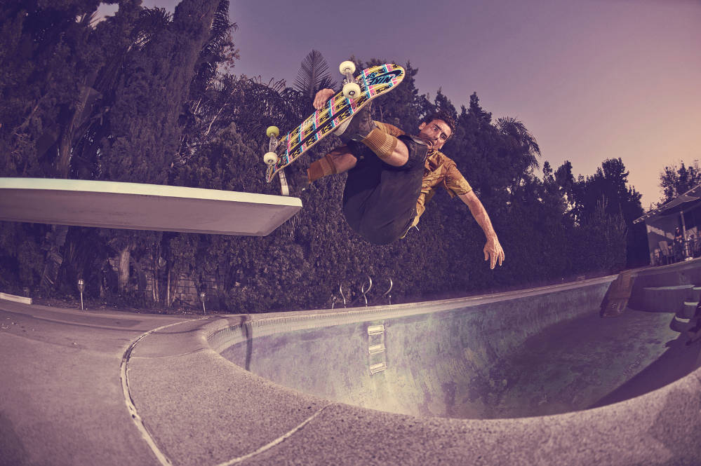 Nike SB Chronicles Lance Mountain Pool