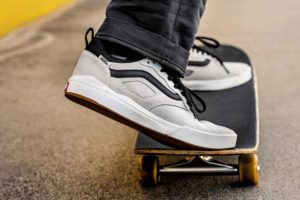 Avec la nouvelle UltraRange Pro, Vans vous apporte une chaussure qui vous accompagne pendant chaque session.
