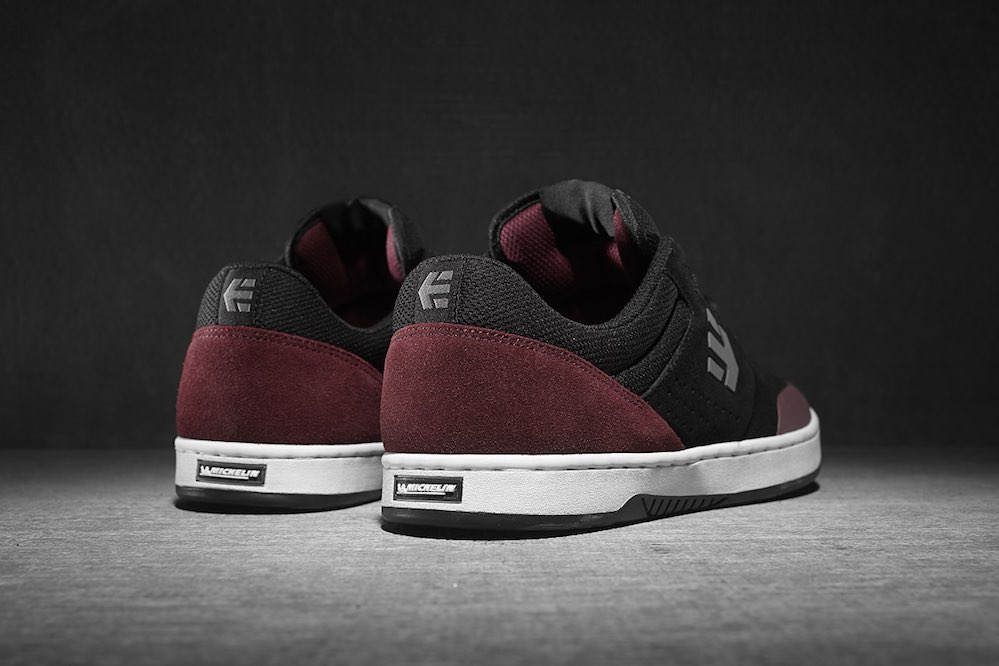 etnies Marana x Michelin - Black Red Grey