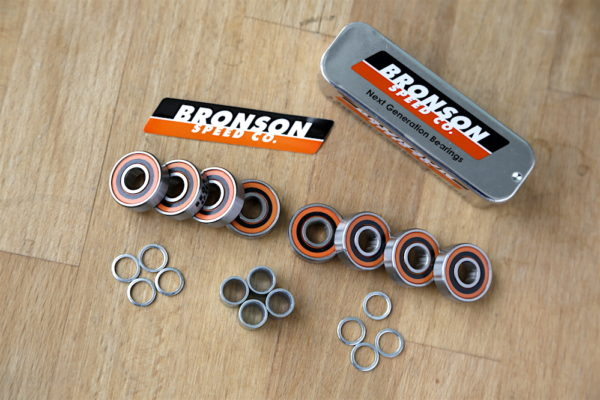 Bronson Speed Co. Bearings Skate Test
