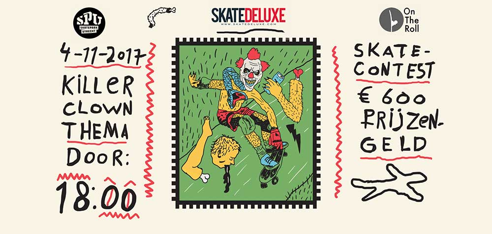 Halloween skate fright 2017