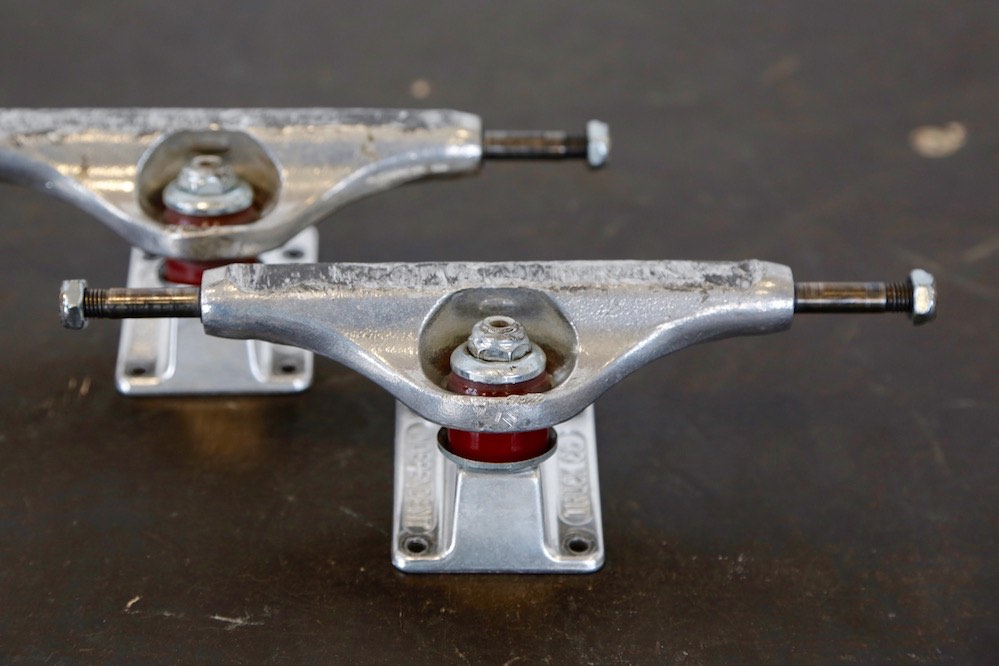 Independent Stage 11 Standard Forged Titanium Trucks - 9 Months in use