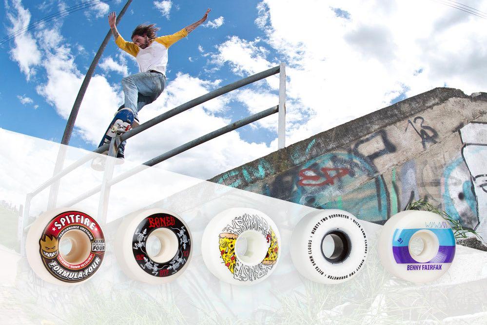 les meilleures marques de roues de skateboard en 2017 skatedeluxe blog. Black Bedroom Furniture Sets. Home Design Ideas