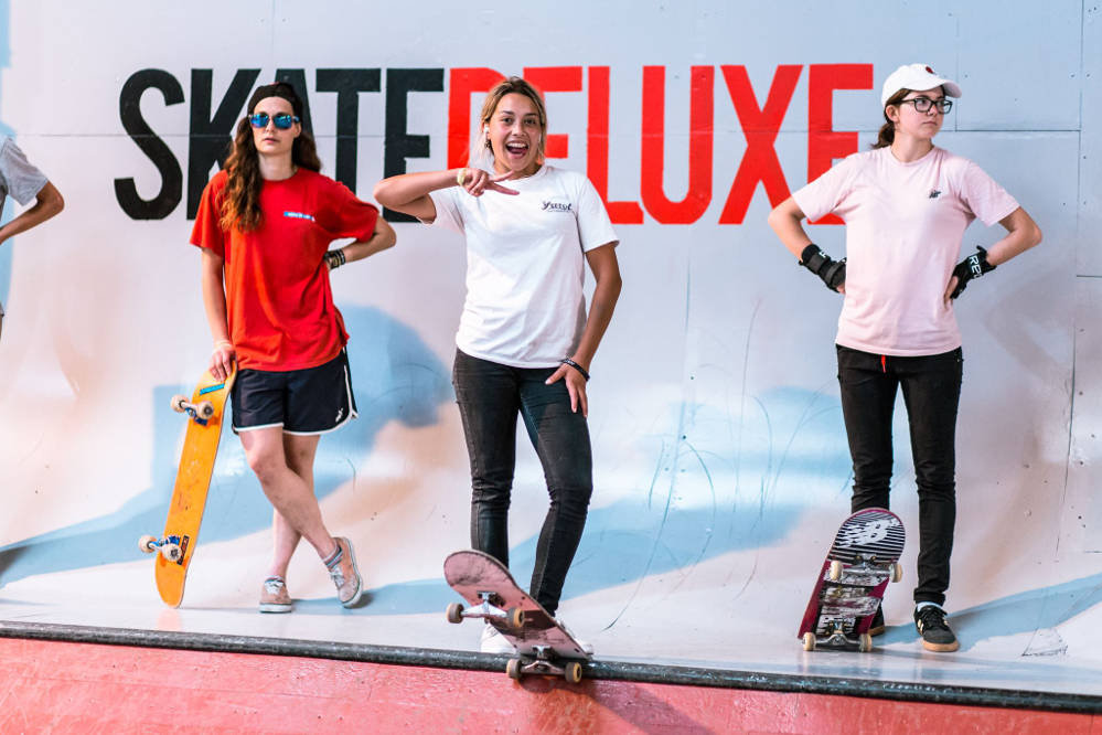 Far 'n' High XI Skate Contest Female Podium 2018