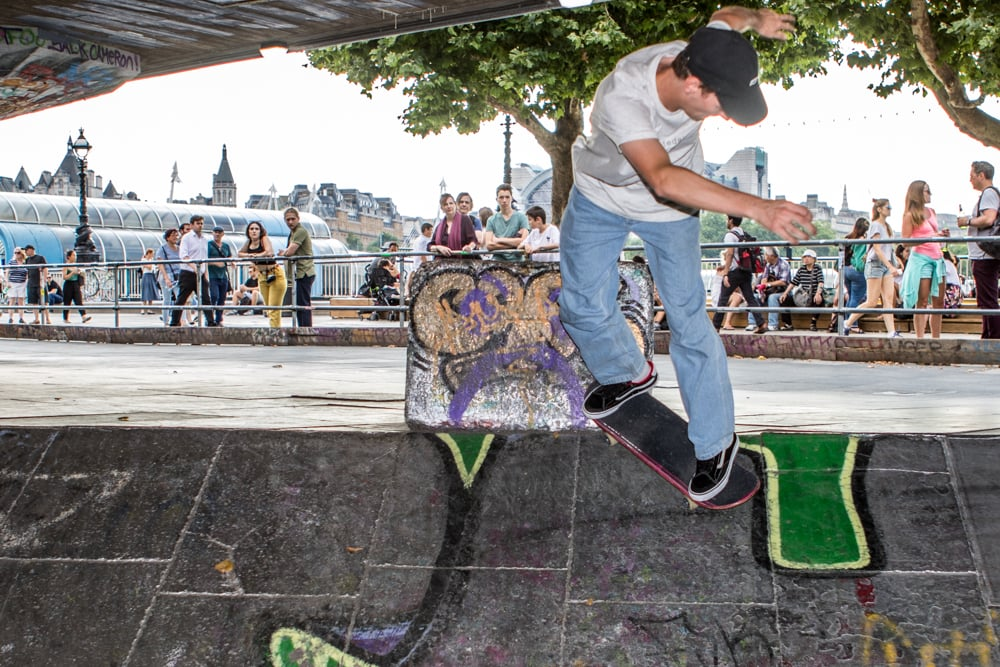 Vans TNT Advanced Prototype Wear Test Southbank