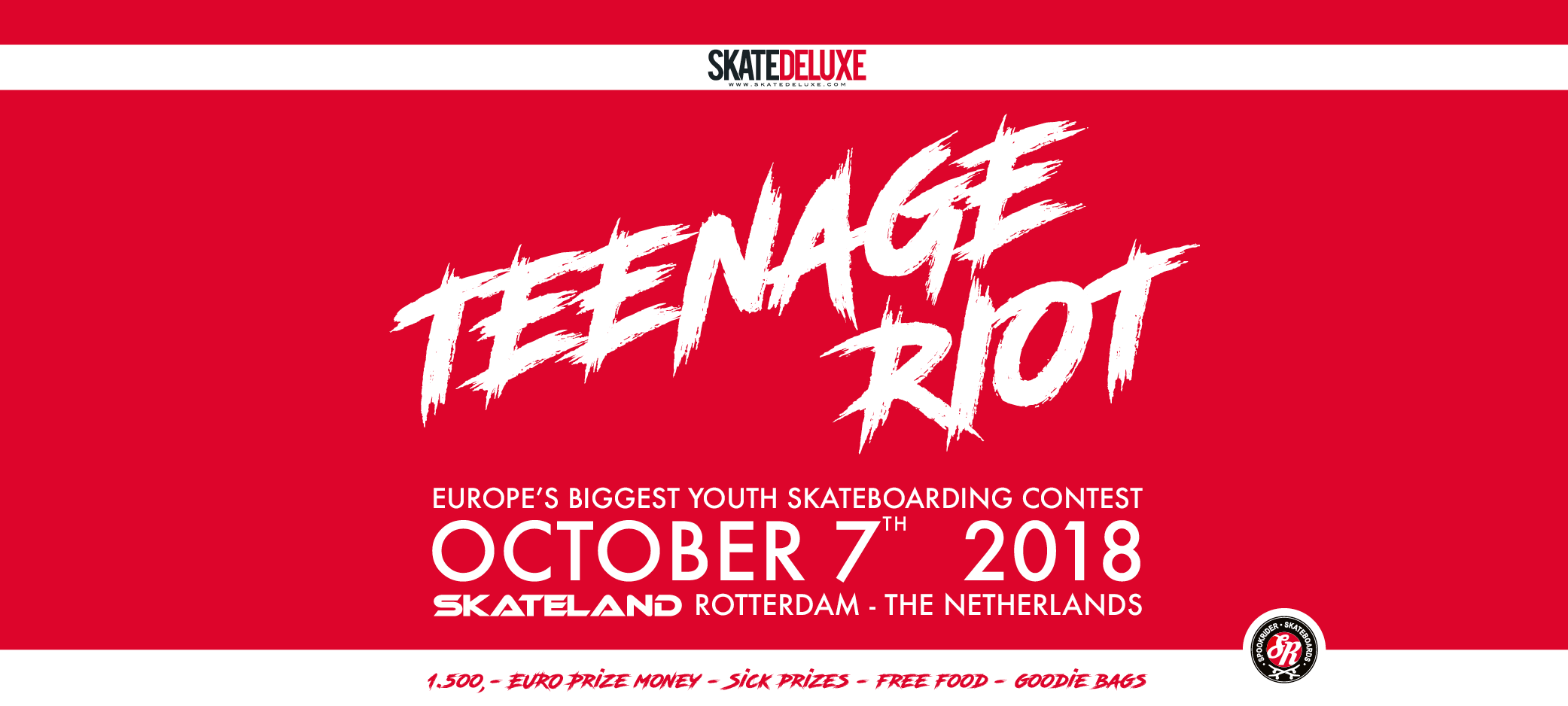 Teenage Riot Youth Skate Contest 2018