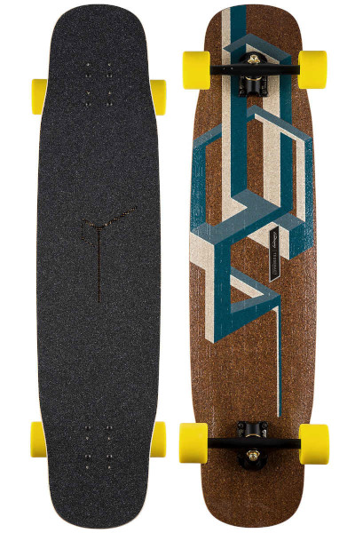 Loaded BasaltTesseract complete Longboard