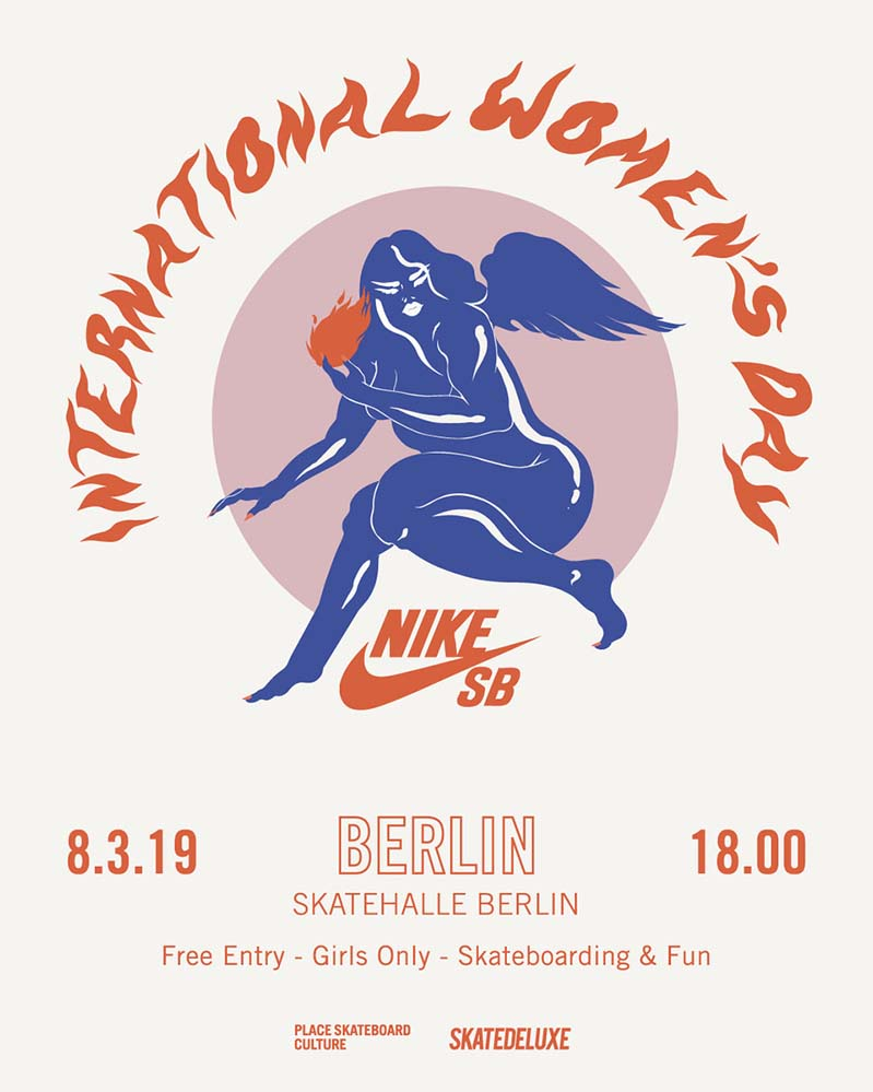 Nike SB International Women's Day at Skatehalle Berlin
