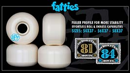 Bones Wheels SPF Formula - Fatties Shape