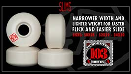 Bones Wheels STF Formula - Slims (V3) Shape