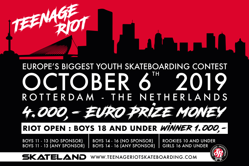 Teenage Riot Youth Skate Contest 2019