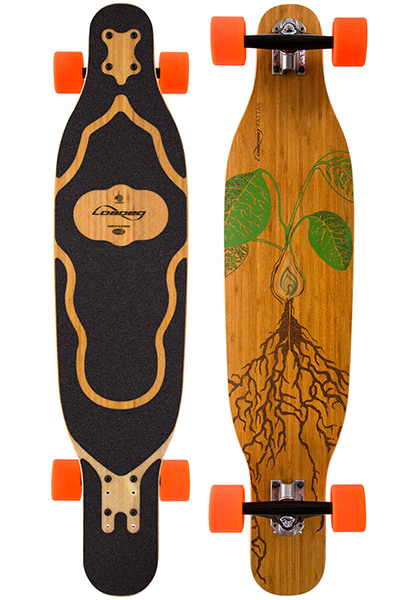 Loaded Fattail complete Longboard