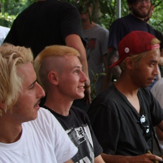 2011 - Emerica Team in Jena - Signing Session