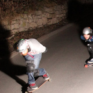 2012 - Night Skate Action Jena - always on the run