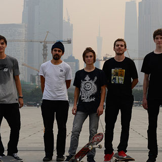 2013 - Die skatedeluxe Team Pro Gang bei der China Tour
