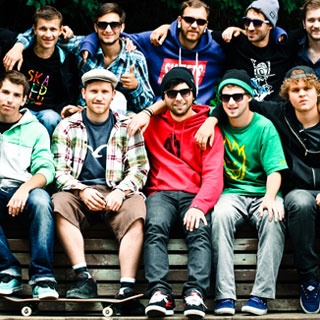2011 - das skate Team auf Shred The City Tour