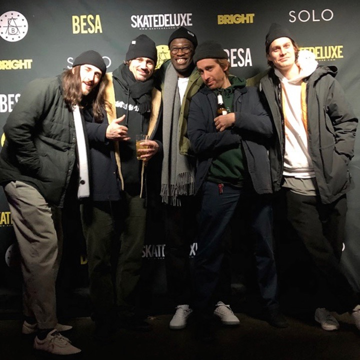Bright European Skateboard Awards - Bonkers, SHRN, Arrow & Beast